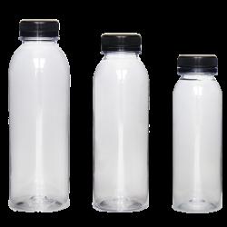 Round PET Juice Bottles